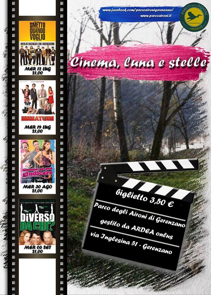 cinema al parco degli aironi